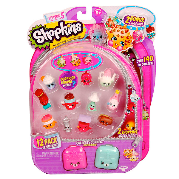 Shopkins 56145 Шопкинс 12 штук в блистере