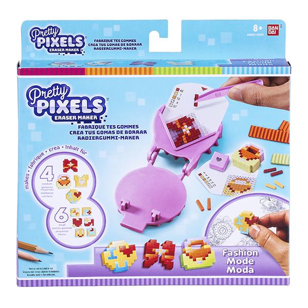 """Pretty Pixels 38520 Студия для создания фигурных ластиков """"Любимые увлечения"""""""