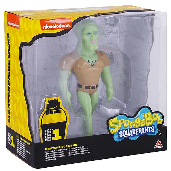 SpongeBob EU691004 Сквидвард красивый (мем коллекция), 20 см, пластиковый