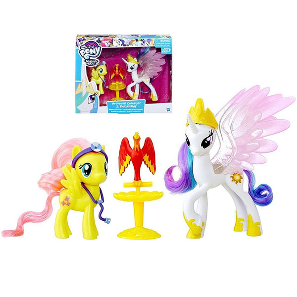 Hasbro My Little Pony B9160/B9849 Пони-модницы Принцесса Селестия и Флаттершай