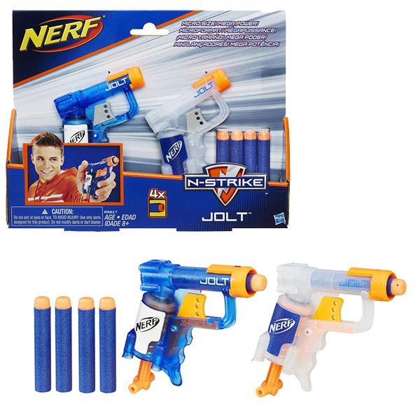 Hasbro Nerf B5817 Нерф Джолт 2 Элит hasbro nerf a6636 нерф зомби страйк мишени джолт бластер