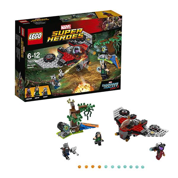 Lego Super Heroes 76079 Конструктор Лего Супер Герои Нападение Тазерфейса lego конструктор супер герои нападение на башню мстителей lego 76038