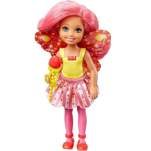 Mattel Barbie DVM90 Барби Маленькая фея Челси Леденец mattel barbie dmb27 барби сестра barbie с питомцем