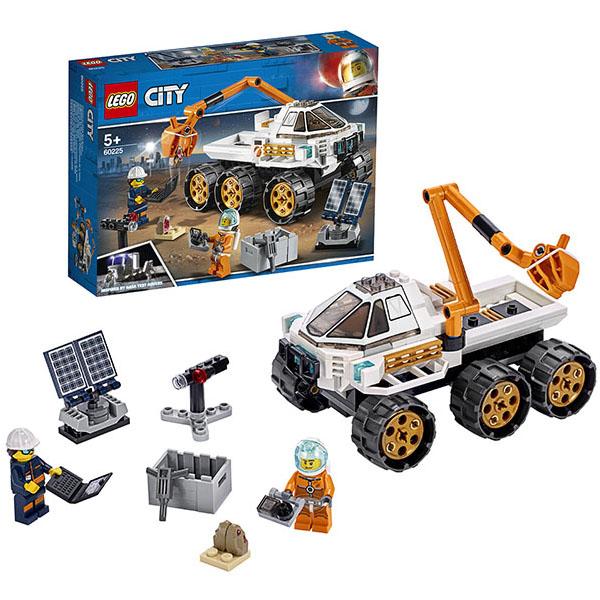 LEGO City 60225 Конструктор ЛЕГО Город Тест-драйв вездехода стоимость