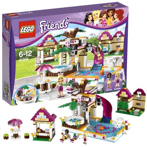 Конструктор Lego Friends 41008 Лего Подружки Городской бассейн