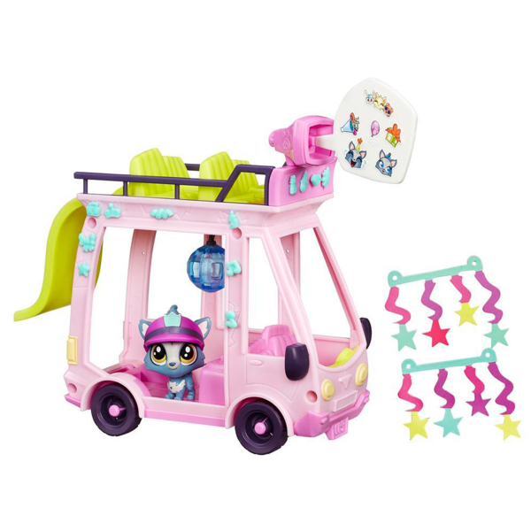 Hasbro Littlest Pet Shop B3806 Литлс Пет Шоп Набор Автобус автобус ман в полтаве