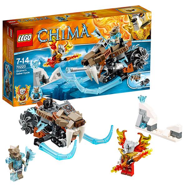 Лего Чима 70220 Конструктор Саблецикл Стрейнора