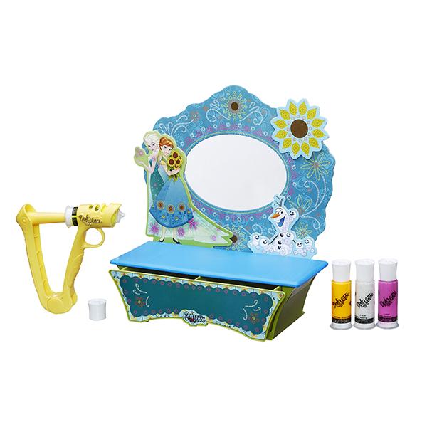 Hasbro Dohvinci B5512 Игровой набор для творчества Стильный туалетный столик Холодное Сердце hasbro play doh игровой набор из 3 цветов цвета в ассортименте с 2 лет