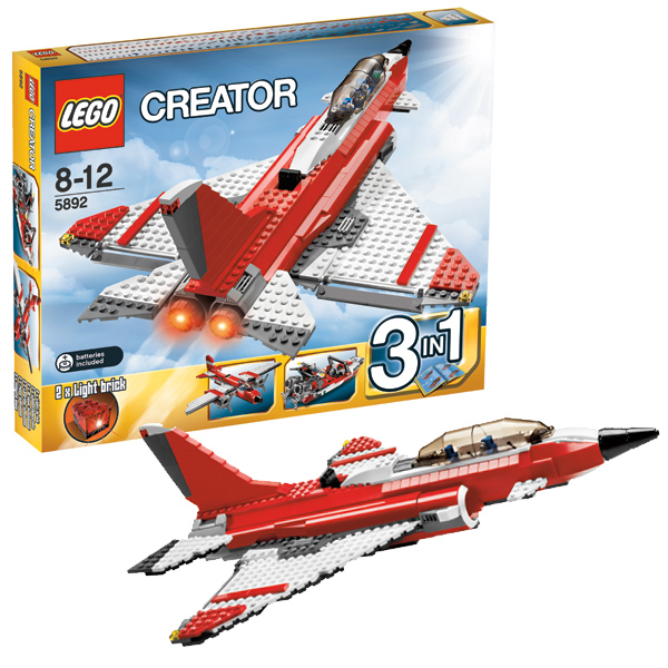 Конструктор Lego Creator 5892 Обгоняя звук