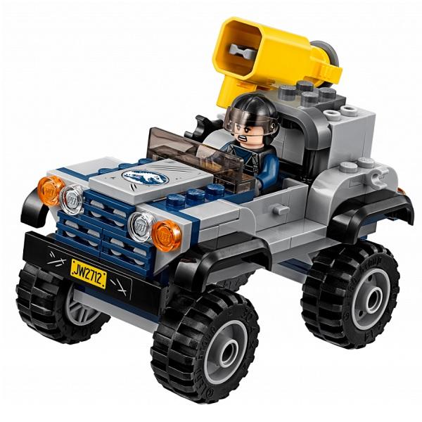 Lego Jurassic World 75926 Конструктор Лего Мир Юрского Периода Погоня за птеранодоном