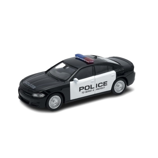Welly 43742P Велли Модель машины 1:38 Dodge Charger Police