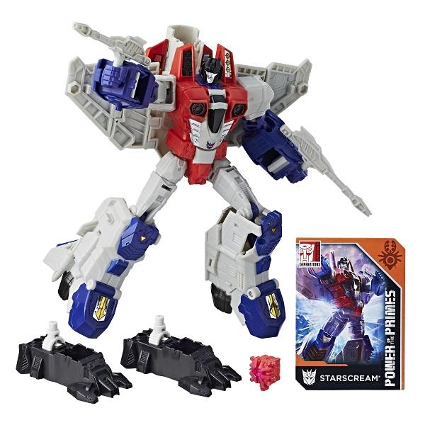 """Hasbro Transformers E0598/E1137 Трансформеры ДЖЕНЕРЕЙШНЗ ВОЯДЖЕР """"Старскрим"""""""