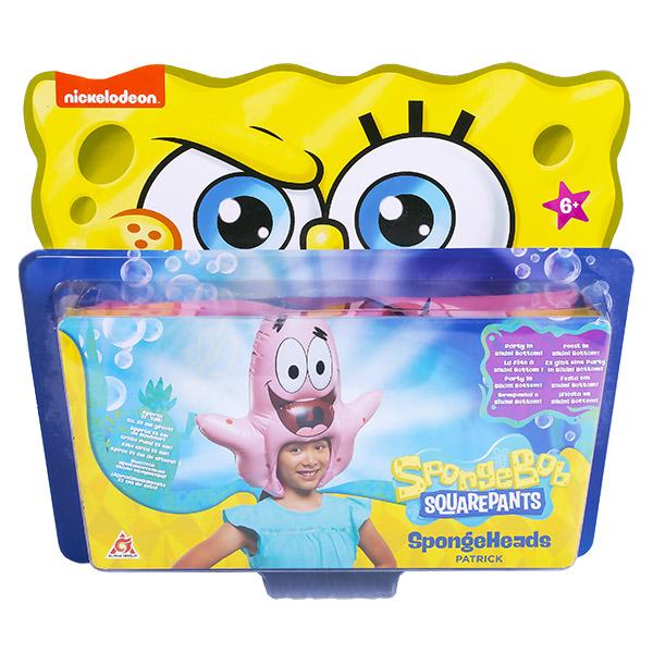 SpongeBob EU690602 Шляпа надувная в виде персонажа (Патрик)
