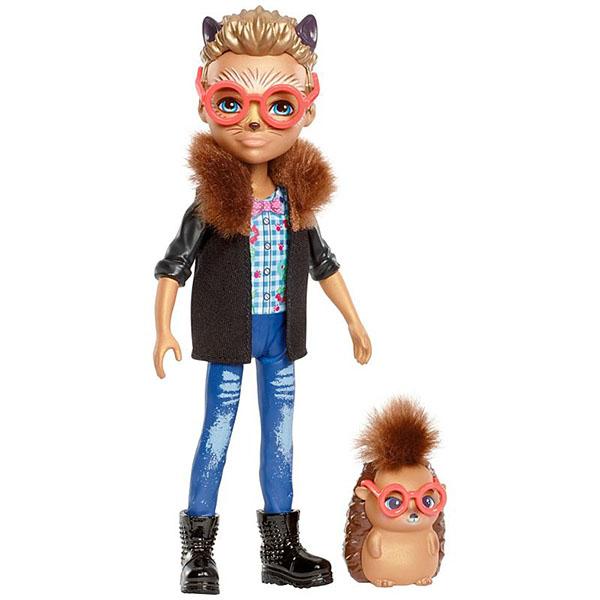 Mattel Enchantimals FJJ22 Кукла с любимой зверюшкой – Хиксби ежик enchantimals кукла squirrel dl