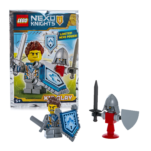 Lego Nexo Knights 271608 Конструктор Лего Нексо Клэй lego nexo knights 70354 лего нексо бур машина акселя