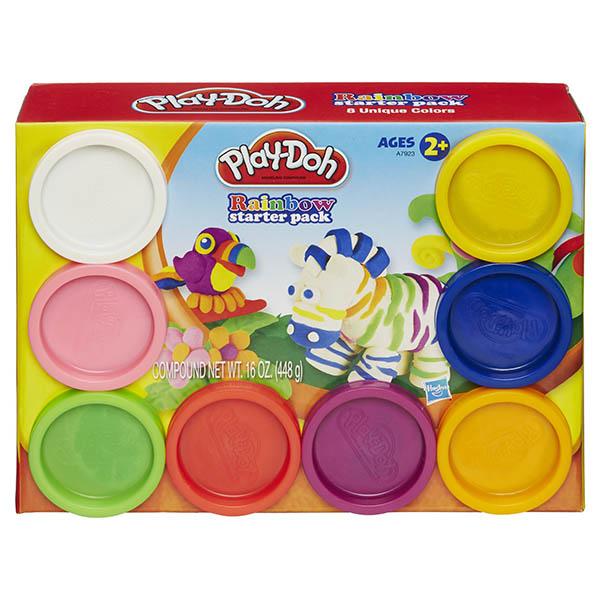 Hasbro Play-Doh A7923 Набор из 8 баночек