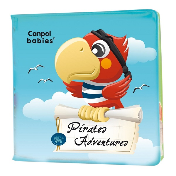 Canpol babies 250989068 Книжка мягкая с пищалкой, пираты, 6м+