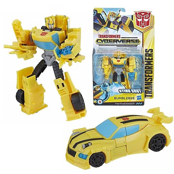 Hasbro Transformers E1884/E1900 Трансформер КИБЕРВСЕЛЕННАЯ 14 см Бамблби hasbro transformers e0701 e0747 трансформер коллекционный автобот локдаум 20 см