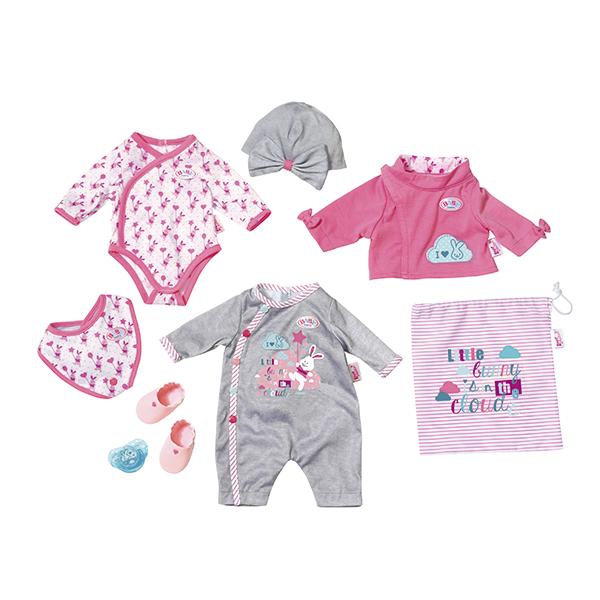 Zapf Creation Baby born 823-538 Бэби Борн Набор одежды и обуви делюкс куклы и одежда для кукол zapf creation baby born детское питание 12 пакетиков