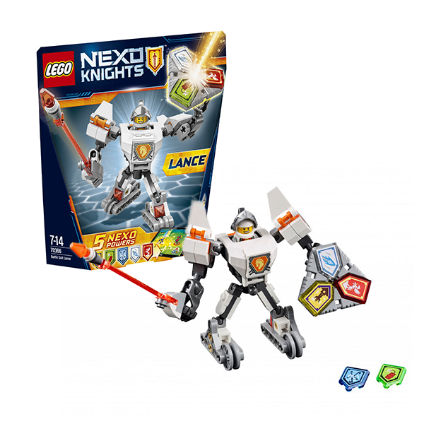 Lego Nexo Knights 70366 Лего Нексо Боевые доспехи Ланса конструктор lego nexo knights 70348 турнирная машина ланса