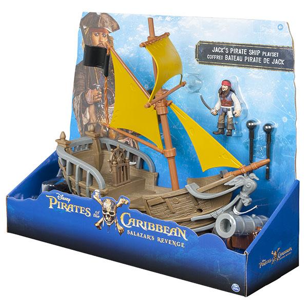 Pirates of Caribbean 73112-P Корабль Джека Воробья