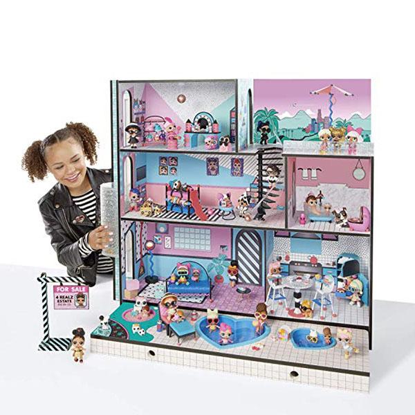 "L.O.L. Surprise 560531 3-х этажный дом ""Новая семья"""