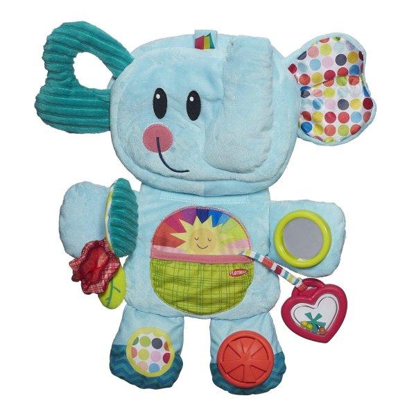 Hasbro Playskool B2263 Возьми с собой Веселый Слоник hasbro игрушка каталка playskool возьми с собой мини щенок