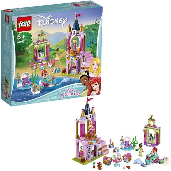 Lego Disney Princess 41162 Конструктор Лего Принцессы Королевский праздник Ариэль, Авроры и Тианы disney princess игровой набор с куклой easy styles ариэль