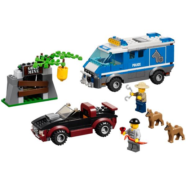 LEGO City 4441 Конструктор ЛЕГО Город Фургон для полицейских собак