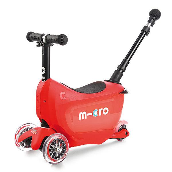 Micro MMD032 Самокат Mini2Go Deluxe Plus, красный