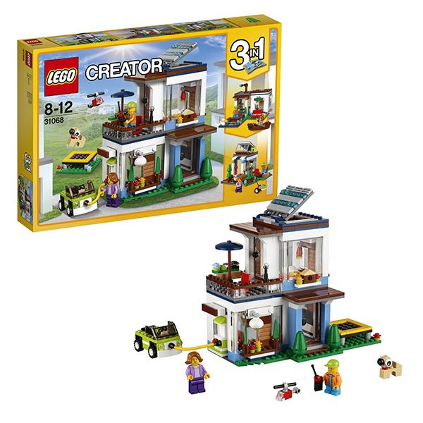 Lego Creator 31068 Конструктор Лего Криэйтор Современный дом lego lego creator 31044 лего криэйтор животные в парке