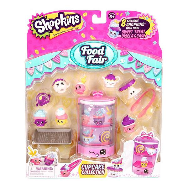Shopkins 56109 Шопкинс Игровой набор Ярмарка вкусов Коллекция кексов