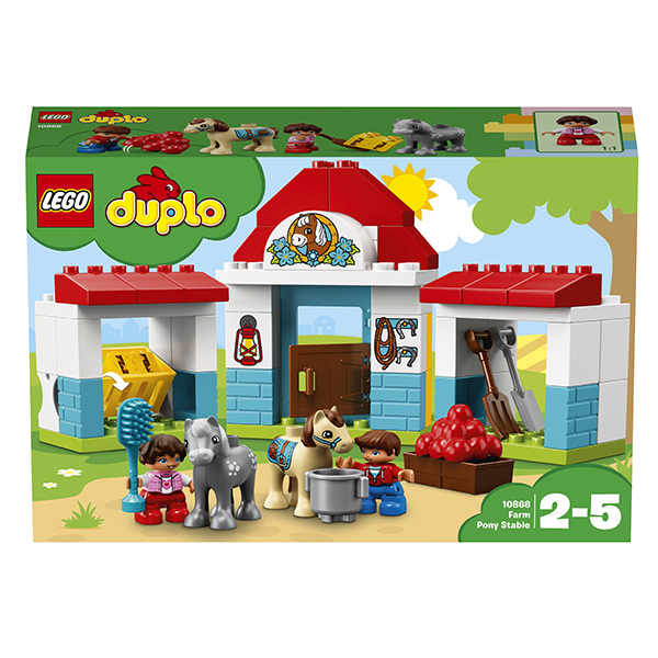 Лего Дупло 10868 Конструктор Конюшня на ферме
