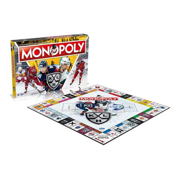 Winning Moves WM00876-RUS-6 Монополия КХЛ