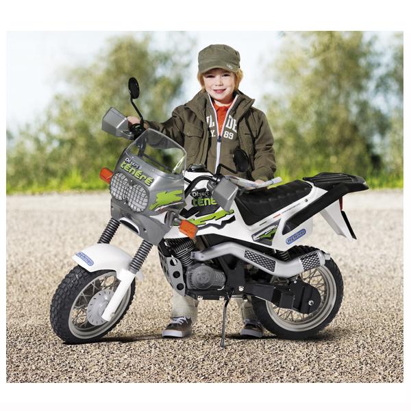Детский электромотоцикл Peg-Perego MC0010 Desert Tenere