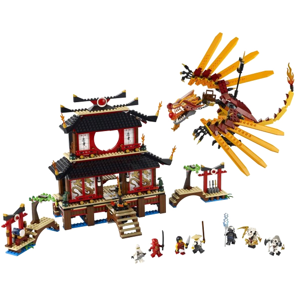 LEGO Ninjago 2507_1 Конструктор Лего Ниндзяго Огненный Храм