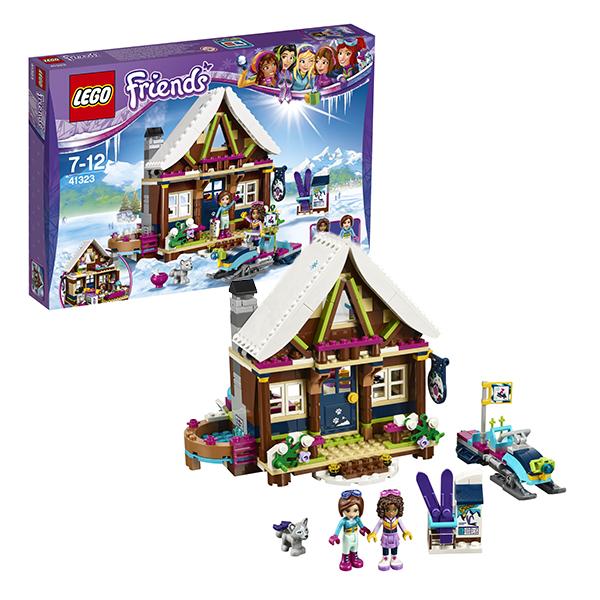 Lego Friends 41323 Конструктор Лего Подружки Горнолыжный курорт: шале