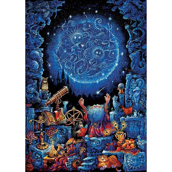 Educa 18003 Пазл 1000 деталей Астролог пазлы educa пазл 1500 деталей закат в мауи