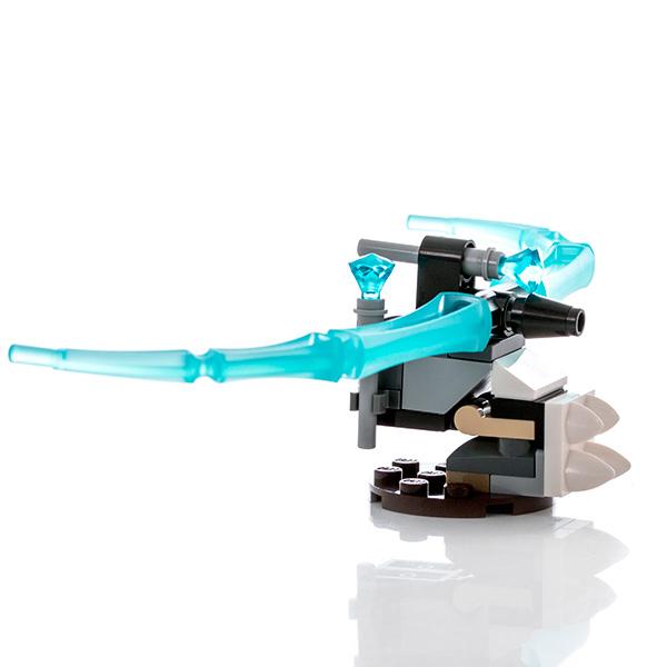 Лего Legends of Chima 391502 Конструктор Арбалет ледяного охотника