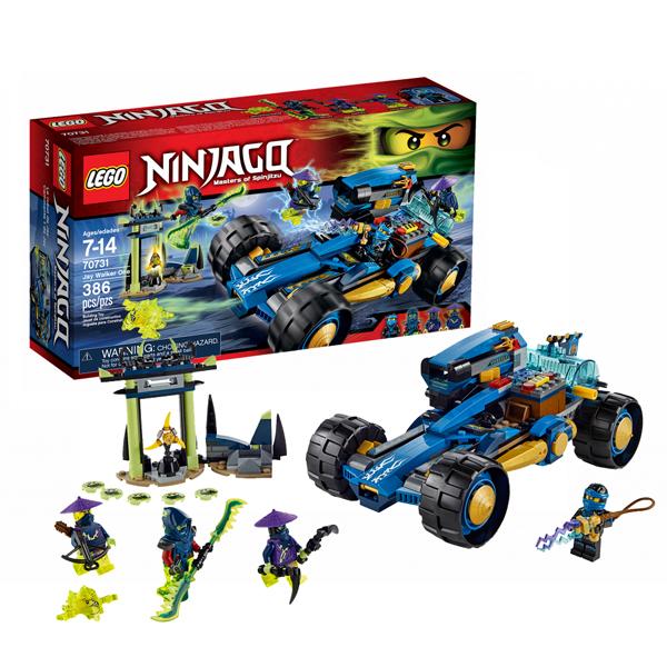 LEGO Ninjago 70731 Конструктор ЛЕГО Ниндзяго Шагоход Джея