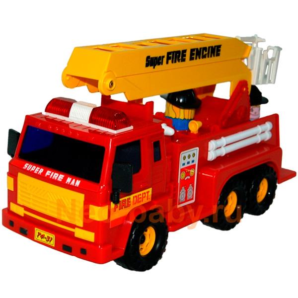 Daesung 404 Дайсунг Машина пожарная игрушка daesung toys пожарная машина 926