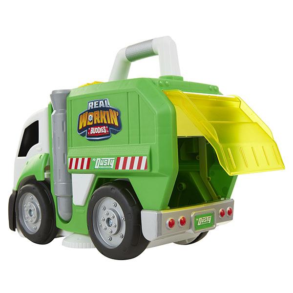 Real Workin' Buddies 583850 Машина для уборки, 3 в 1