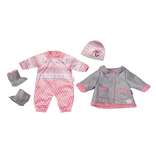Zapf Creation Baby Annabell 700-099 Бэби Аннабель Одежда для прохладной погоды куклы и одежда для кукол zapf creation baby annabell памперсы 5 штук