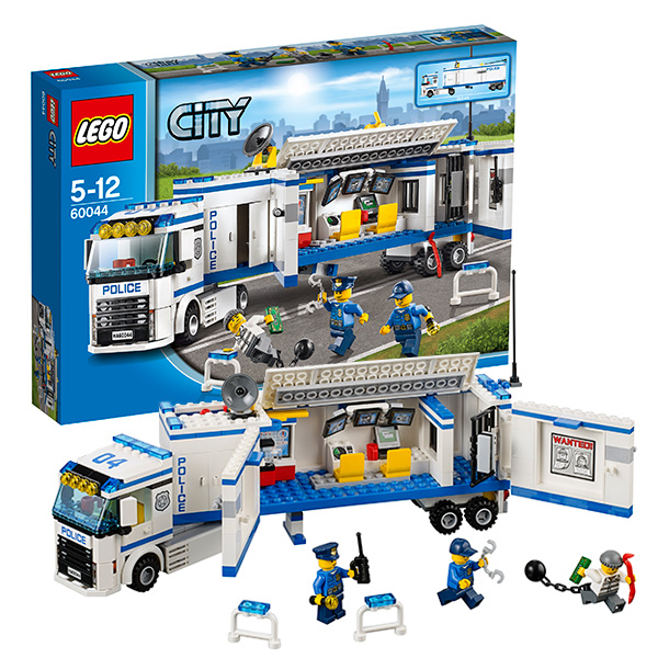 Lego City 60044 Конструктор Лего Город Выездной отряд полиции