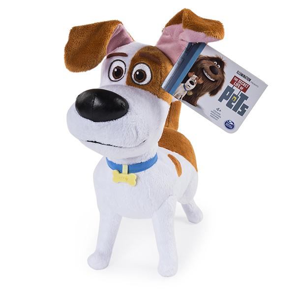 Secret Life of Pets 72805-max Тайная жизнь домашних животных Плюш 30 см- Макс