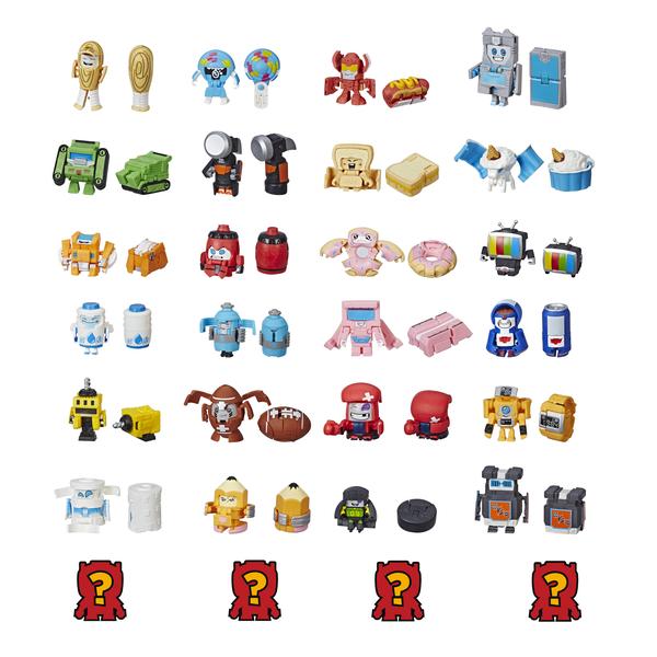 Hasbro Transformers E3494 Игровой набор 8 трансформеров Ботботс игровой набор transformers констракт боты воины в ассортименте