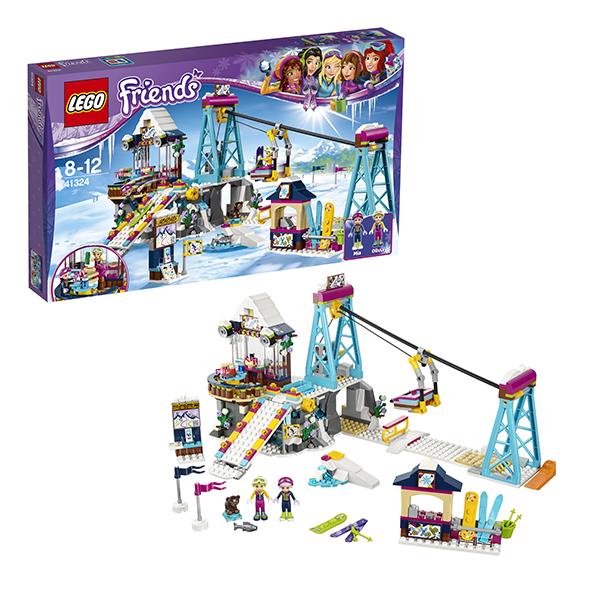 Lego Friends 41324 Конструктор Лего Подружки Горнолыжный курорт: подъёмник