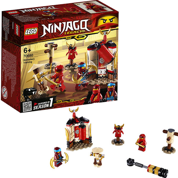 цена на LEGO Ninjago 70680 Конструктор ЛЕГО Ниндзяго Обучение в монастыре