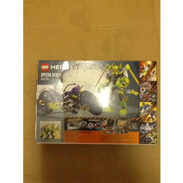 LEGO Hero Factory 6231_1 Конструктор ЛЕГО Фабрика Героев Демон Байкер (speeda demon)
