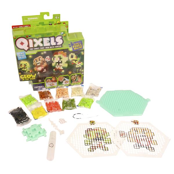 Qixels 87023 Квикселс Набор для творчества Зомби (светится в темноте) набор для творчества qixels зомби светится в темноте